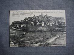 VEZELAY  -  89  -  Vézelay Historique  - Vue Générale  -  Côté Ouest  -   YONNE