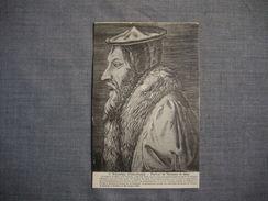 VEZELAY  -  89  -  Vézelay Historique  - Portrait De Théodore De Bèze  -   YONNE