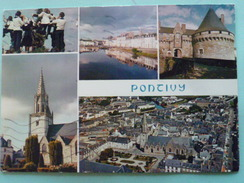 V01-02-A-departement-56-morbihan- Pontivy-les Moutons Blancs-costume- Canal Nantes A Brest-chateau Rohan-eglise