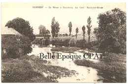 88 - DOMRÉMY - La Meuse / Au Fond - MAXEY-sur-MEUSE ++++++ I. P. M., Paris ++++++ RARE