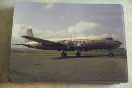SAM SOCIETA AEREA MEDITERRANEA   DC 6   I DIMB - 1946-....: Modern Era