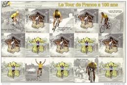 FRANCE 2003 BLOC - BF59 - BF 59 - CENTENAIRE DU TOUR DE FRANCE CYCLISME NEUF** -    TDA196B
