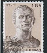 FRANCE BUSTE DE CESAR OBLITERE 2014 YT 4836  -                        TDA197