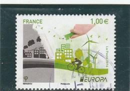 FRANCE 2016 EUROPA OBLITERE YT 5046 --            TDA197