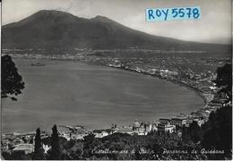 Campania-castellammare Di Stabia Panorama Da Quisisana Veduta Panoramica Anni 50/60 - Castellammare Di Stabia