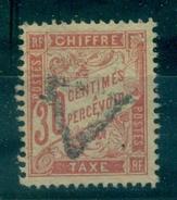 FRANCE TAXE N° 34 OBLITERE Signé R. Calves. Cote : 100 €  Tb
