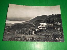 Cartolina Lago Di Garda - Gardone Riviera - S. Michele 1955