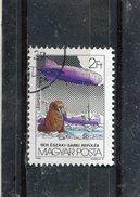 HUNGARY. 1981. SCOTT C429. GRAF ZEPPELIN FLIGHTS (ZEPPELIN AND): ICEBREAKER MALYGIN, POLAR FLIGHT, JULY 24-31, 1931 - Poste Aérienne