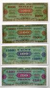 FRANCE : Serie 1944/45.  Reproduction. - Billets