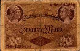 ALLEMAGNE EMPIRE 20 MARK Du 5-8-1914 Pick 48b - [ 2] 1871-1918 : German Empire