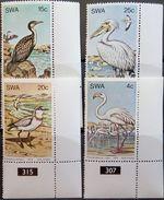 South West Africa, 1979, Birds, Flamingo, Pelican, MNH