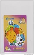 China Tintin Kuifje 2008 Telefoonkaart Telecarte PHONECARD Tarjeta Telecard TELEFONKARTE - Fumetti