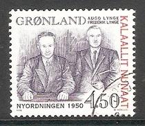 004322 Greemland 1998 4K50 FU - Greenland