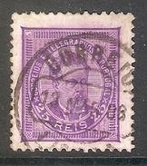 004323 Portugal 1887 25R FU Perf 11.5 - 1862-1884 : D.Luiz I
