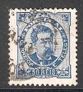 004324 Portugal 1886 50R Used Perf 11.5 - 1862-1884 : D.Luiz I