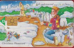 GREAT BRITAIN Chip BT Christmas Shepherd Noel 1998 Telefoonkaart Telecarte PHONECARD Tarjeta Telecard TELEFONKARTE - Royaume-Uni