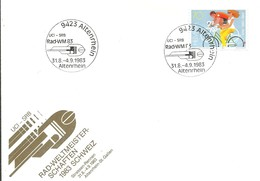 POSTMARKET  SUIZA 1983