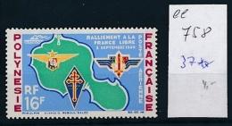 F.-Polynesien   37   **    (ee758   ) Siehe Scan