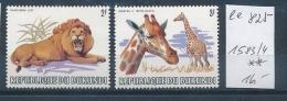 Burundi Nr. 1583-4    **    (ee825    ) Siehe Scan