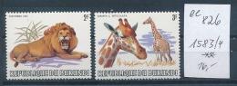 Burundi Nr. 1583-4    **    (ee826    ) Siehe Scan