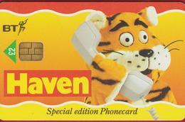 BT Chip Tiger Tigre Tijger Tigre HAVEN Telefoonkaart Telecarte PHONECARD Tarjeta Telecard TELEFONKARTE - Chats