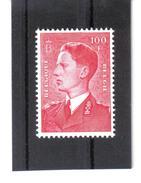 GUT32  BELGIEN 1958  MICHL 1125 Y ** Postfrisch  Siehe Abbildung
