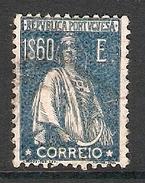 004339 Portugal 1924 Ceres 1$60 FU Perf 12 X 11.5 - 1910-... Republic