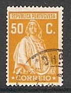 004342 Portugal 1926 Ceres 50c FU Perf 14 - Usati