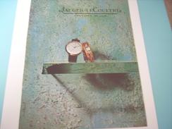 ANCIENNE PUBLICITE JAEGER LECOULTRE 1957 - Autres