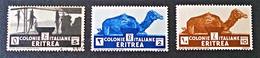SERIE COURANTE 1933 - O/NEUFS ** - YT 195/97 - Eritrea