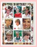 KIRGISISTAN,1997, Lady Diana & Red Cross ** MNH Postfrisch