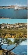 Lot De 9 CPM Du VAR Hyères, Sanary, St Raphaël, Ste Maxime, Cavalaire Etc. - Cartes Postales