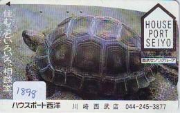 Télécarte Japon * TURTLE * TORTUE  (1898)  PHONECARD JAPAN * * TELEFONKARTE * SCHILDKRÖTE - Turtles