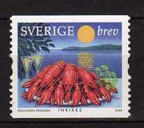 Sweden 2008 Plate Of Crawfish.MNH - Sweden
