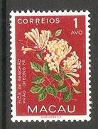 004366 Macao 1953 Flowers 1Avo MNH - Nuovi