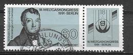 BRD  1991  Mi 1537  Weltgaskongress, Berlin
