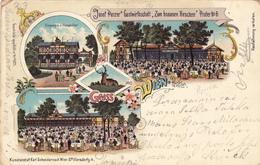 AUSTRIA - WIEN, PRATER OLD LITHO 1901 - Prater