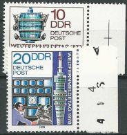 DDR 1978 Mi-Nr. 2316/17 ** MNH