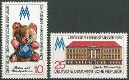 DDR 1979 Mi-Nr. 2452/53 ** MNH