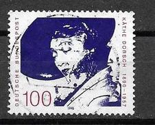 BRD  1990  Mi 1483  100. Geburtstag Von Käthe Dorsch