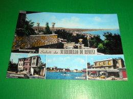 Cartolina Saluti Da Marebello Di Rimini - Vedute Diverse 1961 - Rimini