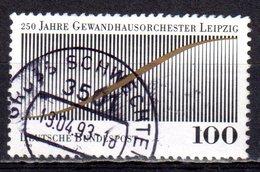 Bund 1993 Mi. 1654 Gewandhausorchester Leipzig Gestempelt (8272)