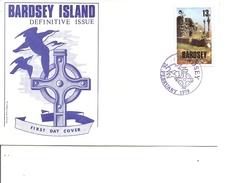 Grande-Bretagne -Locaux De Bardsey ( FDC De 1979 à Voir) - Local Issues