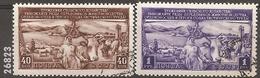 1949 - YT 1394 à 1395 (O) - VC: 1.50 Eur.