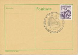 ÖSTERREICH - Sonderstempel - 40 Jahre  Wiener Internationale Messe 3.10.1961 - Poststempel - Freistempel
