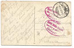ITALIE CACHET CROIX ROUGE DISTRICT DE CHIAVARI 1917 - Croix-Rouge
