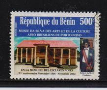 Benin 2003, 500 Francs, Slave Monument, Minr 1354, Vfu. Cv Undetermined
