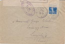 ALSACE - THANN - 1917 - 1877-1920: Periodo Semi Moderno