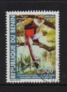 Benin 2004, 600 Francs Monkey, Minr 1362, Vfu. Cv Undetermined