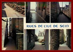 Ile De Sein , Les Rues   ( Scan Recto Et Verso ) - Ile De Sein